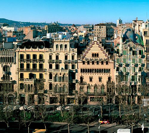 Le quartier d 39 eixample barcelone - La casa de las lamparas barcelona ...