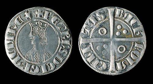 Pièces de la collection numismatique