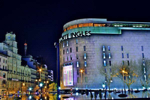 centre commercial El Corte Ingles