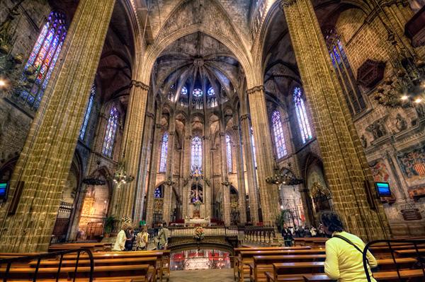cathédrale Santa Eulàlia gratuite