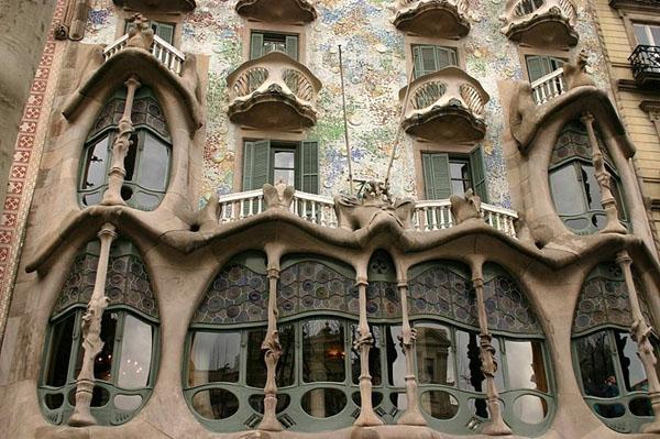 gaudi barcelone Casa battlo