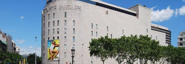 Faire du shopping à El Corte Ingles à Barcelone