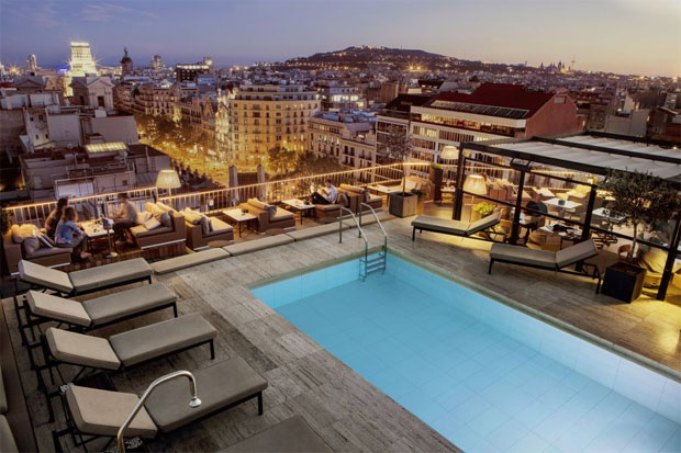 Majestic hotel terrasse