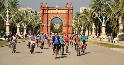 Barcelone à vélo 2