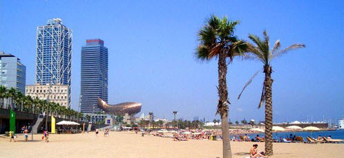 plage de la Barceloneta