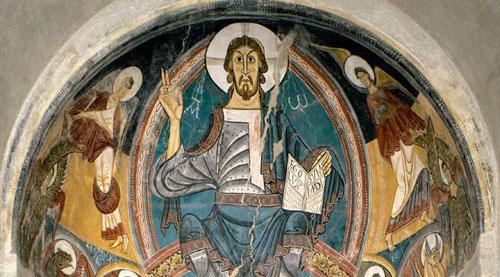 Fresque Christ Pantocrator
