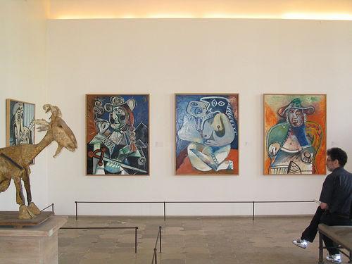 Galerie de peintures du Musée Picasso