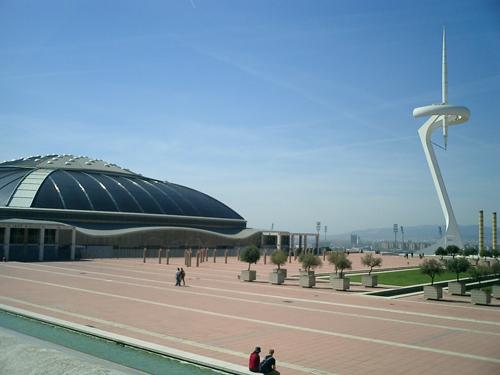Palau de Sant Jordi et la Tour de Calatrava