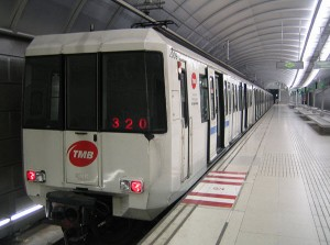 metro de barcelone