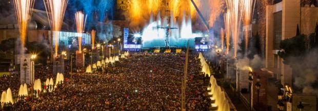 Fêter nouvel an à Barcelone