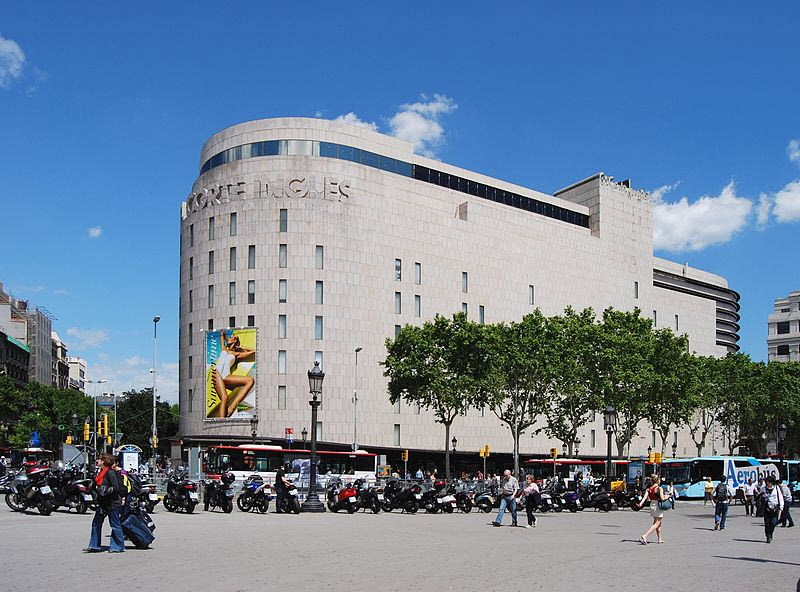 grand magasin barcelone