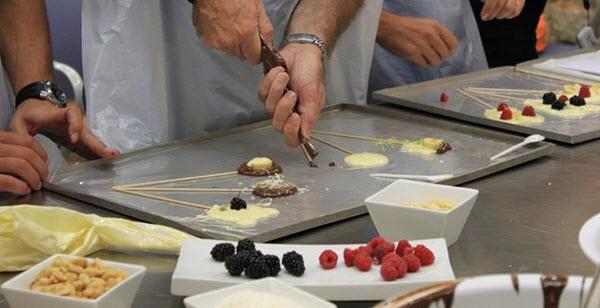 preparation chocolat
