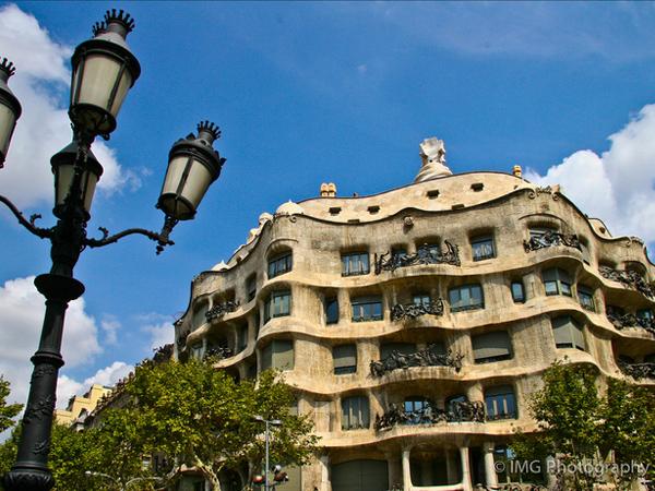 toit de la Casa Mila