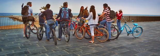 Découvrez Barcelone en vélo