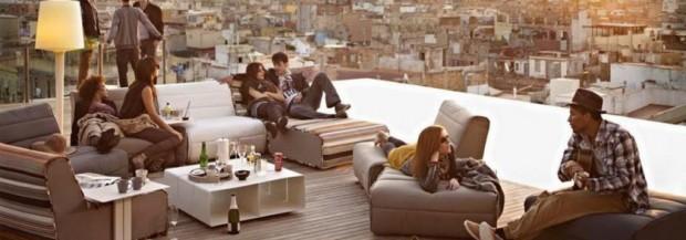 Les bars rooftop de Barcelone