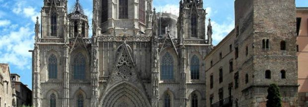 Zoom sur la Cathédrale Santa Creu de Barcelone